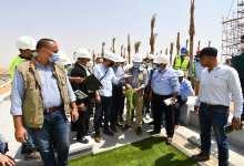 Photo of الجزار يتفقد سير العمل بمشروع الحدائق المركزية في العاصمة الإدارية
