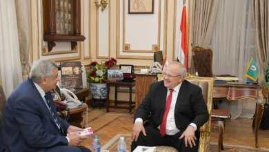 Photo of الخشت يستقبل مستشار رئيس الجمهورية لشؤون الصحة