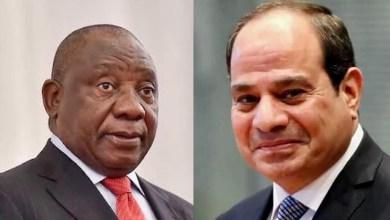 Photo of الرئيس يبحث هاتفيا ًتطورات ملف سد النهضة مع رئيس جنوب افريقيا
