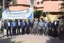 Photo of بالصور….رئيس جامعة بنها يتفقد الدراسة بهندسة شبرا