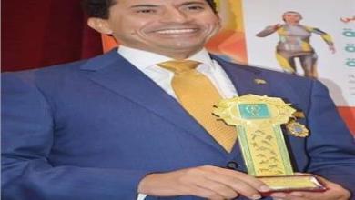Photo of أشرف صبحي يفوز بجائزة رجل العام للثقافة العربية