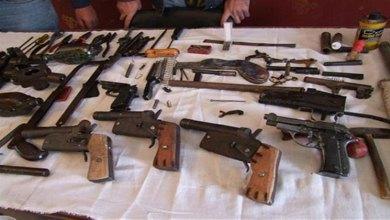 Photo of ضبط أسلحة ومواد مخدرة وتحرير 1850 مخالفة مرورية بكفر الشيخ