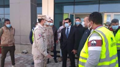 Photo of صبحي يطمئن على تجهيزات الصالة المغطاة بالعاصمة الإدارية
