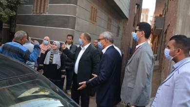 Photo of الهجان يتابع مخالفات البناء التي تم رصدها من خلال وحدة المتغيرات المكانية