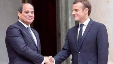 Photo of رئيس فرنسا يستقبل الرئيس السيسى فى قصر الإليزيه الإثنين المقبل