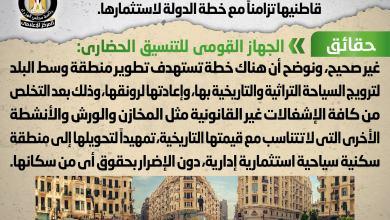 Photo of إخلاء العقارات التراثية بمنطقة وسط البلد من قاطنيها تزامناً مع خطة الدولة لاستثمارها