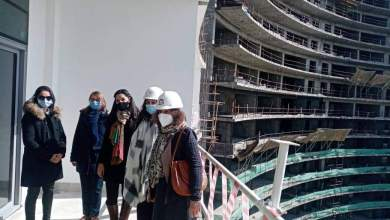 Photo of القنصل العام الفرنسي بالإسكندرية والوفد المرافق لها يتفقدون مشروعات مدينة العلمين الجديدة