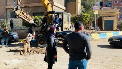 Photo of إكتمال أعمال الحفر لتوصيل الغاز الطبيعي لمدينة قها