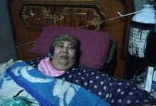 Photo of يسرية عطيه تعاني من السمنة المفرطة وزنها 260 كيلو وزوجها وابنها مريضان بالغربية