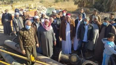 Photo of حفر بئر الطبو العميق بسيوة بتكلفة 7 ملايين جنيه