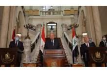 Photo of وزراء خارجية مصر والأردن والعراق يؤكدون استمرار التعاون بين دولهم