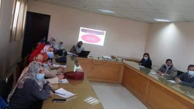 Photo of وحدة مكافحة العدوى تجتمع لعرض نتائج الترصد الخاصة بعدوى المنشأت الصحية ببنها