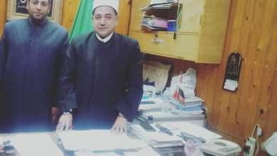 Photo of نبض العالم  تحاور الشيخ علي عبد النعيم رئيس قسم المساجد الحكومية بمحافظة القليوبية