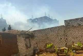 Photo of السيطرة على حريق في منزلين بطوخ