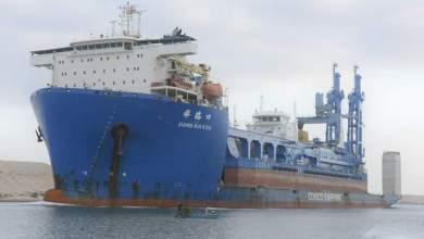 """Photo of الفريق أسامة ربيع: """"قناة السويس تشهد عبور السفينة الحاملة للكراكة""""مهاب مميش"""""""