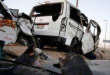 Photo of إصابة 19 شخصا في انقلاب سيارتين بالشرقية