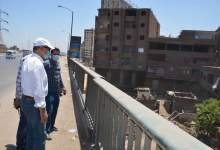 Photo of الهجان يقوم بجولة تفقدية لمتابعة أعمال إزالة المباني المتعارضة مع الطريق الدائري
