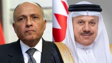 Photo of وزير الخارجية يتلقى اتصالًا هاتفيًا من وزير خارجية البحرين لبحث آخر التطورات على الساحة الفلسطينية