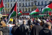Photo of المئات يتظاهرون فى ألمانيا تضامنا مع فلسطين مطالبين بفرض عقوبات على إسرائيل