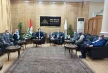Photo of الجيزاوى يستقبل فريق الاعتماد البرامجي لكلية التربية