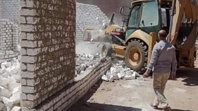 Photo of إزالة مبنى مخالف وحملات لإزالة الاشغالات بكفر شكر