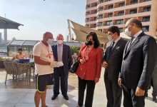 Photo of نائب وزير السياحة تتابع تطبيق الاجراءات الاحترازية بفنادق القاهرة