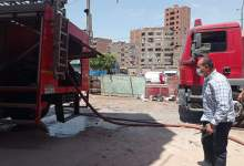 Photo of السيطرة على حريق شب بمنزل وورشة بمنطقة الفرانوني بالقليوبية