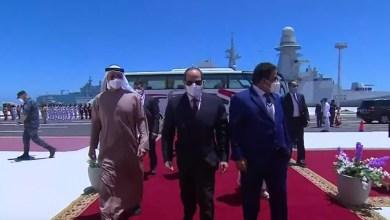 Photo of المتحدث الرئاسي ينشر صور توقيع الرئيس السيسي على وثيقة افتتاح قاعدة 3 يوليو البحرية
