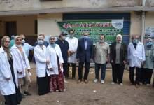 Photo of محافظ القليوبية يتفقد القافلة الطبية البيطرية بقرية ميت كنانة بطوخ