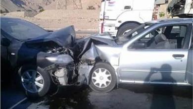 Photo of اصطدام سيارة أجرة بأخرى ملاكي على طريق شبين القناطر