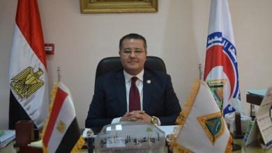 "Photo of ""الدخاخني"" يتابع إجراءات تلقي العاملين ومنتسبى جامعة بنها للقاح كورونا"