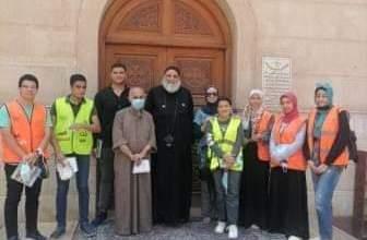 Photo of صندوق مكافحة الإدمان يزور كنيسة السيدة العذراء وجمعية المحبة بشبلنجة