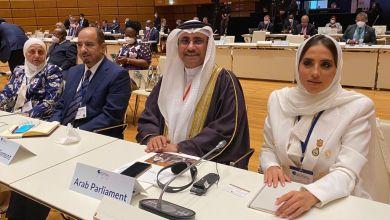Photo of رئيس البرلمان العربي يشارك في المؤتمر العالمي لرؤساء البرلمانات بفيينا