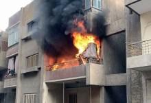 Photo of حريق بشقة سكنية بأبو النمرس