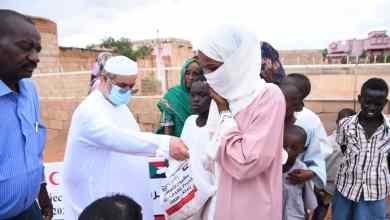 سفارة دولة الإمارات بالخرطوم تنفذ مشروع الأضاحي بتمويل من الهلال الأحمر الاماراتي