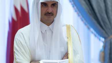 أمير قطر يصل السعودية الثلاثاء