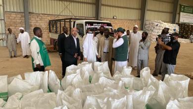 السعودية تواصل غوث المتضررين بالسودان بتدشين مشروعين للإغاثة