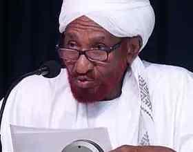 """السودان: جماعة أنصار السنه المحمدية تحتسب """"الامام الصادق المهدي"""""""
