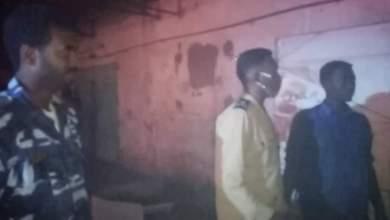 حريق ضخم في أمدرمان وتدخل عاجل من الدفاع المدني