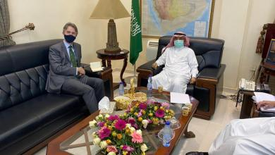 السعودية وبريطانيا تبحثان القضايا الثنائية والدولية ذات الاهتمام المشترك