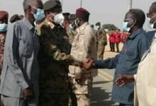 السودان: وفد عسكري برئاسة البرهان يصل الجنينة