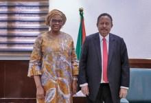 حمدوك يشيد بالتعاون المستمر بين السودان والبنك الإفريقي للتنمية