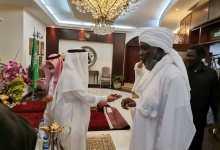 بالصور.. جبريل إبراهيم في صالون السفير السعودي بالخرطوم