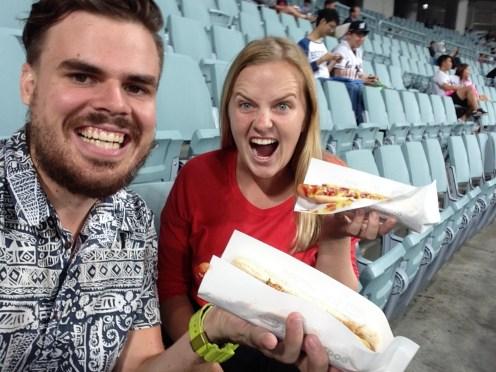 Hotdogs at the Baseball!
