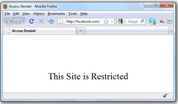 facebook blocked in Pakistan