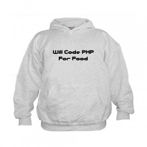 will code php for food