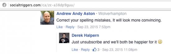 derek spelling mistakes
