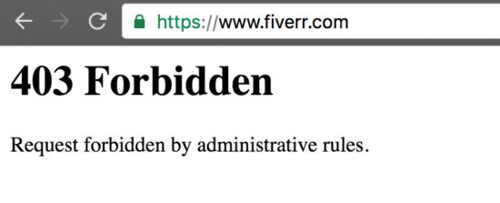 fiverr-403-forbidden