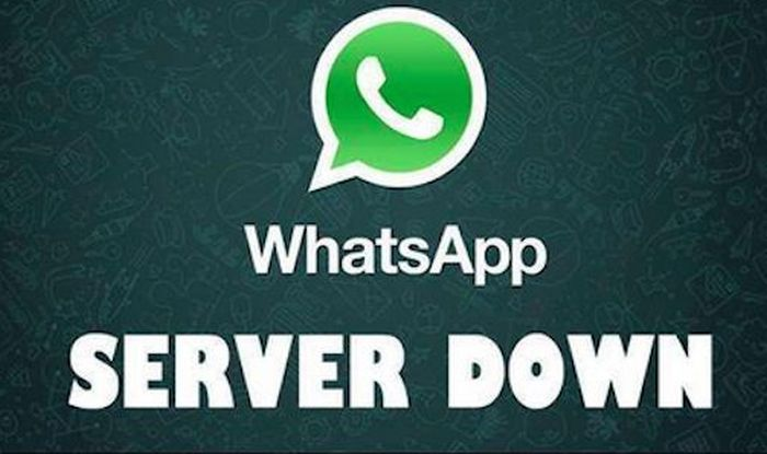whatsapp not working server down