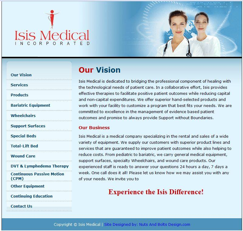 Isis Medical Inc.